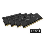Kingston 16GB 2800 DDR4 CL14 DIMM (Kit of 4) XMP HyperX Predator (HX428C14PBK4/16)